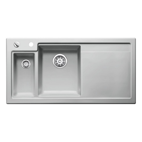 Blanco Sink Overflow : sink-colour-alugrey-sink-colour-sink-handing-left-hand-bowl-sink ...